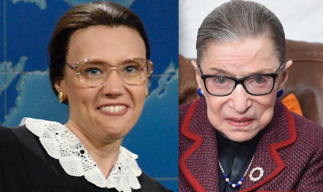 Ruth Bader Ginsburg Opens Up About Her 'SNL' Doppelganger