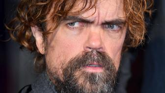 LONDON, ENGLAND - OCTOBER 15:  Peter Dinklage attends the UK Premiere of 'Three Billboards Outside Ebbing, Missouri' during the closing night gala of the 61st BFI London Film Festival at the Odeon Leicester Square on October 15, 2017 in London, England.  (Photo by Karwai Tang/WireImage)