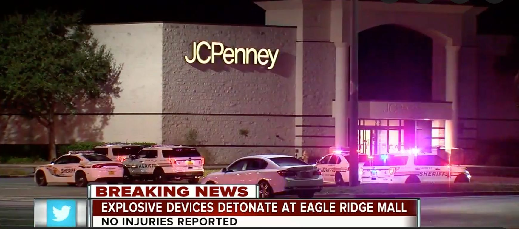 2 IEDs Explode At Florida Mall