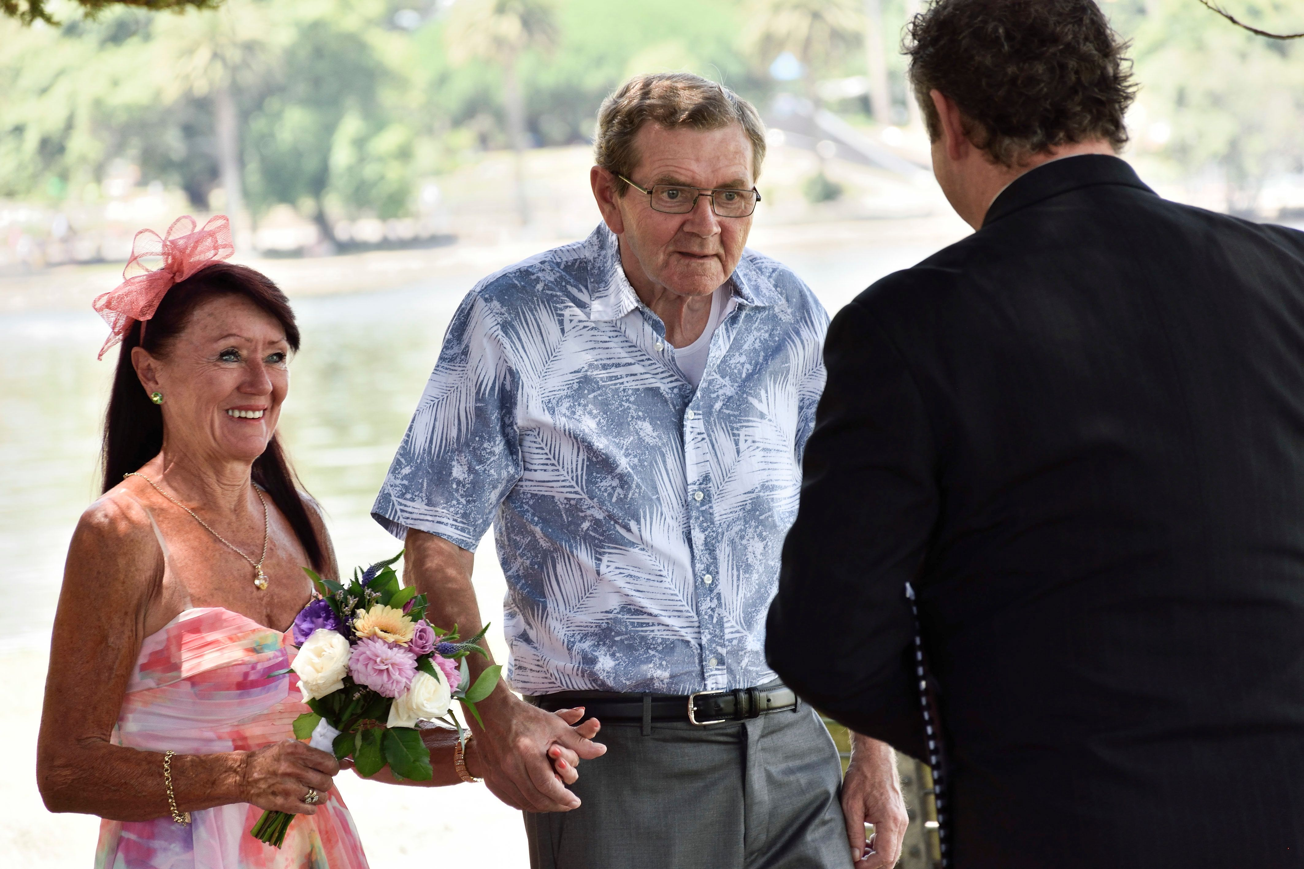 Couple Renews Wedding Vows After Husband With Alzheimer's Disease Forgets He's