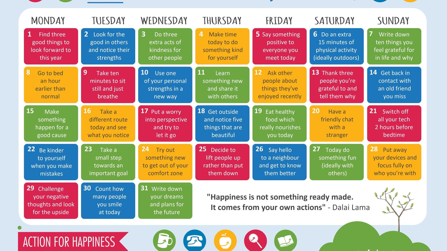 Why I Created A Kindness Calendar
