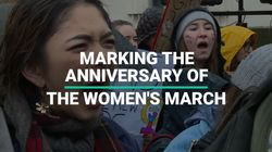 Anniversary Of The Women's March In