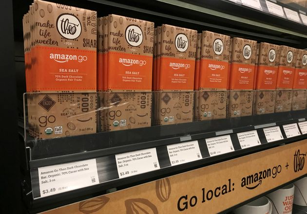 Amazon Unveils The First 'Checkout Free'