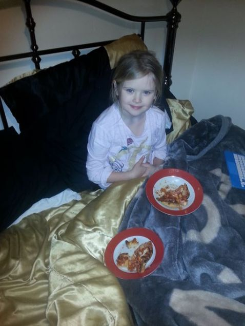 Bill Billingham reportedly posted this photo of his daughter on Facebook shortly before she was