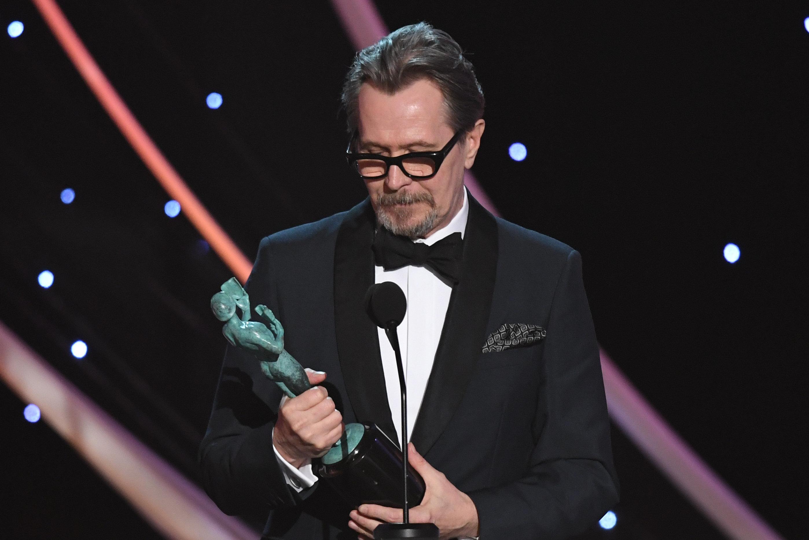 Gary Oldman won a SAG Award on Sunday