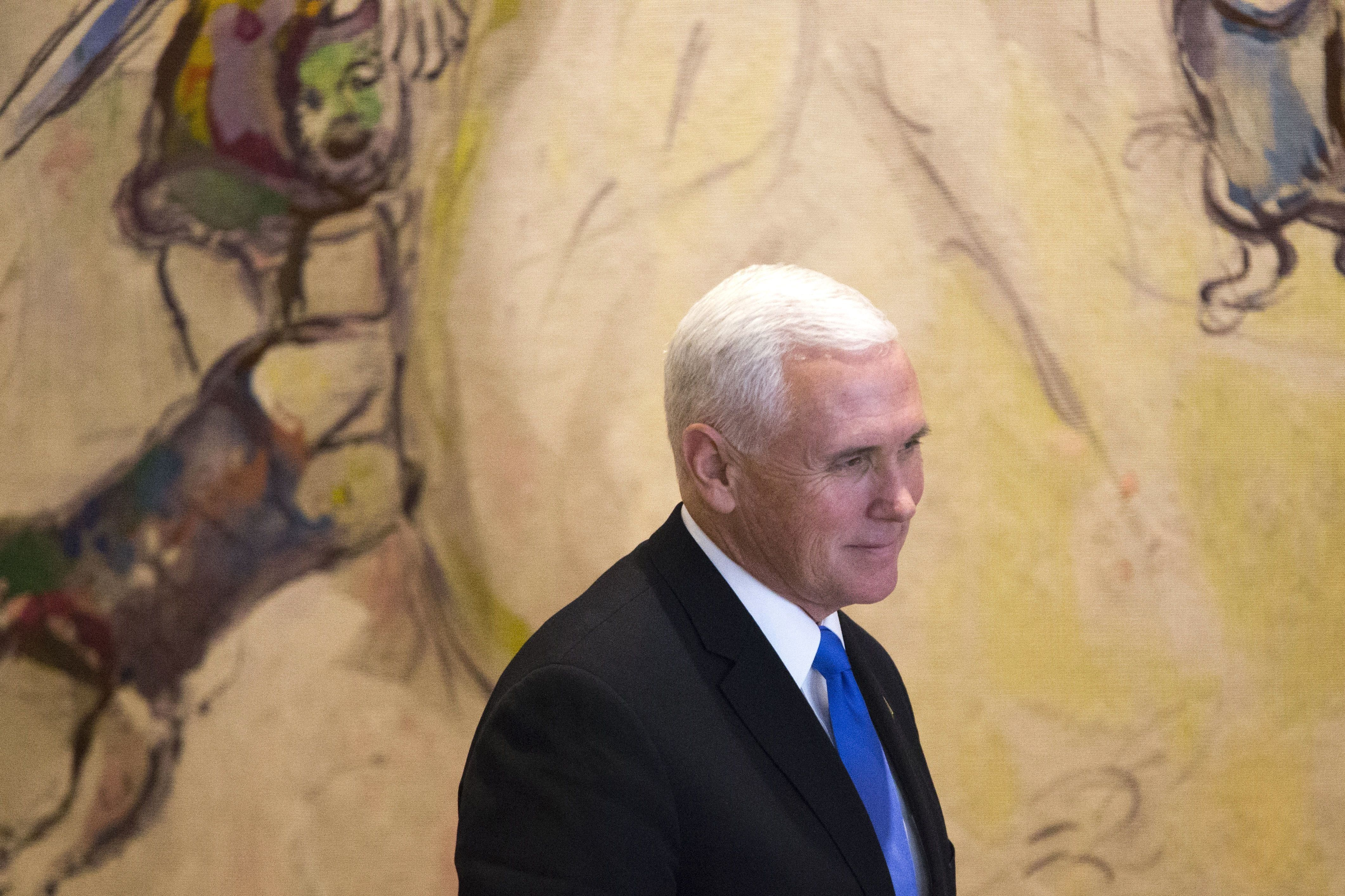 Jerusalem Embassy Move Will Happen Next Year, VP Pence Says