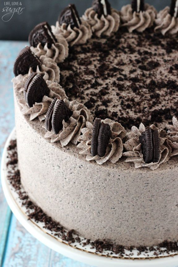 "<strong>Get the <a href=""http://www.lifeloveandsugar.com/2015/02/04/chocolate-oreo-cake/"" target=""_blank"">Oreo Layer Cake</a>"