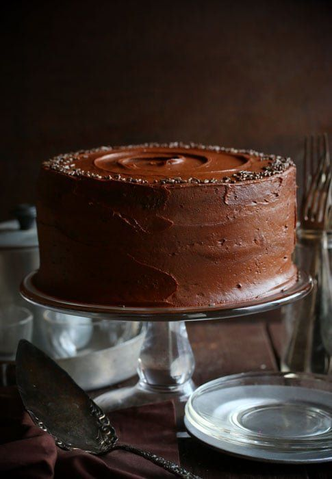 "<strong>Get the <a href=""https://iambaker.net/chocolate-avocado-cake/"" target=""_blank"">Chocolate Avocado Cake</a> recipe from"