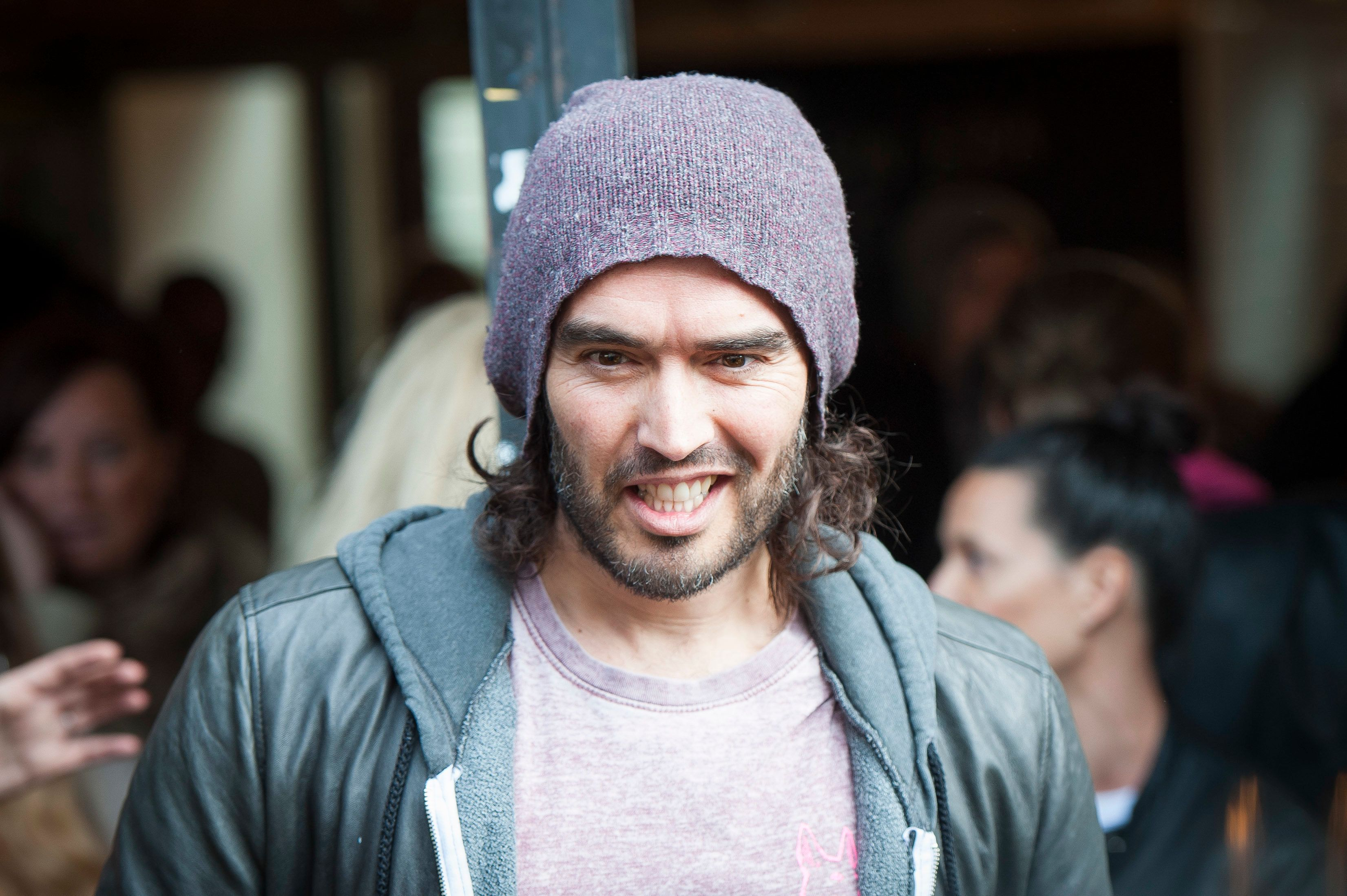 Russell Brand Launches Royal Wedding Rough Sleepers Petition