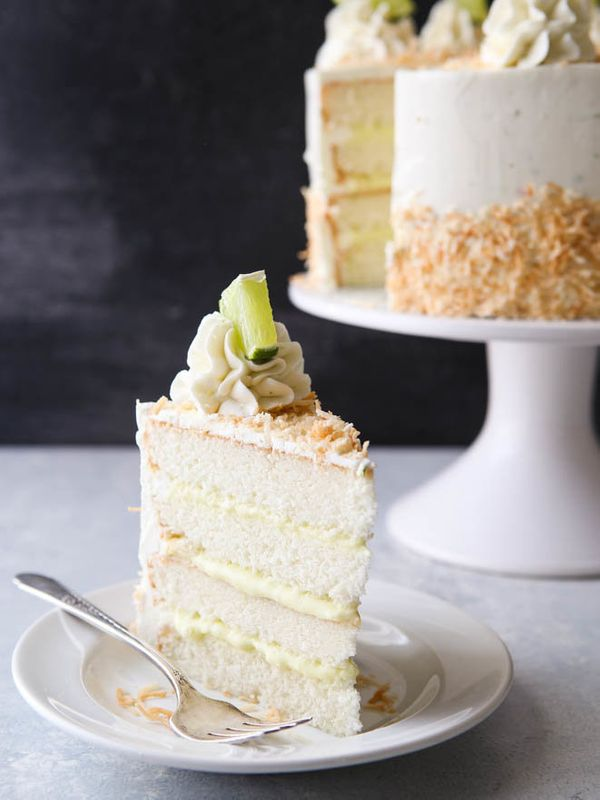 "<strong>Get the <a href=""https://www.completelydelicious.com/coconut-cream-lime-cake/"" target=""_blank"">Coconut Cream Lime Cak"