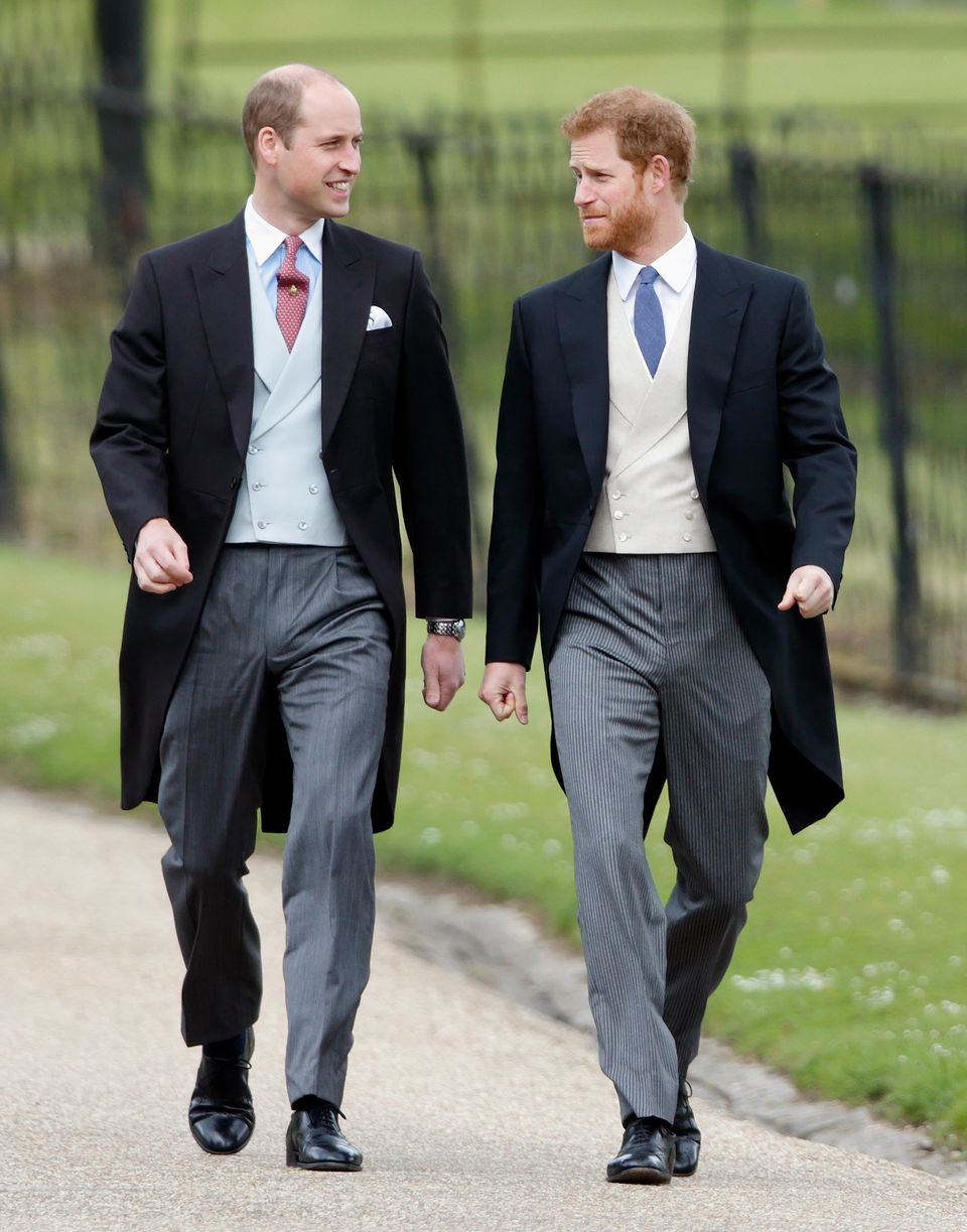 Male guests are expected to wear morning suits to royal weddings,