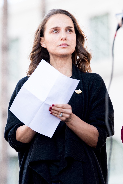 Natalie Portman berichtet von