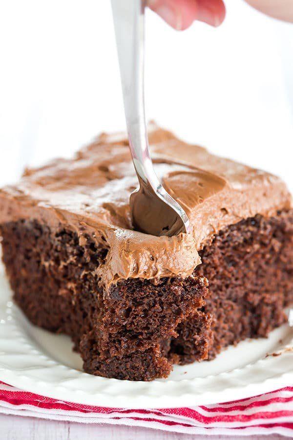 "<strong>Get the <a href=""https://www.browneyedbaker.com/chocolate-dump-it-cake/"" target=""_blank"">Chocolate Dump-It Cake</a>&n"
