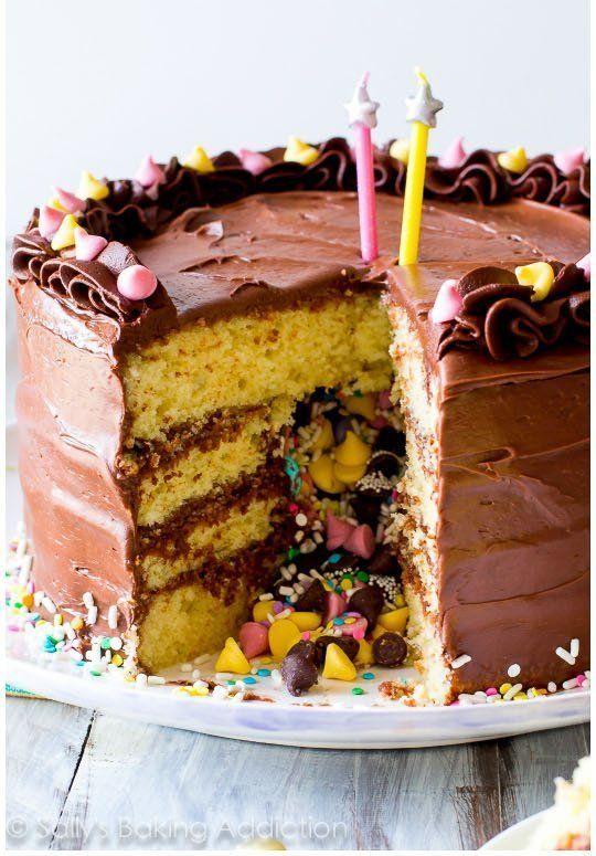 "<strong>Get the <a href=""https://sallysbakingaddiction.com/2015/04/29/how-to-make-a-pinata-cake/"" target=""_blank"">Pinata Cake"