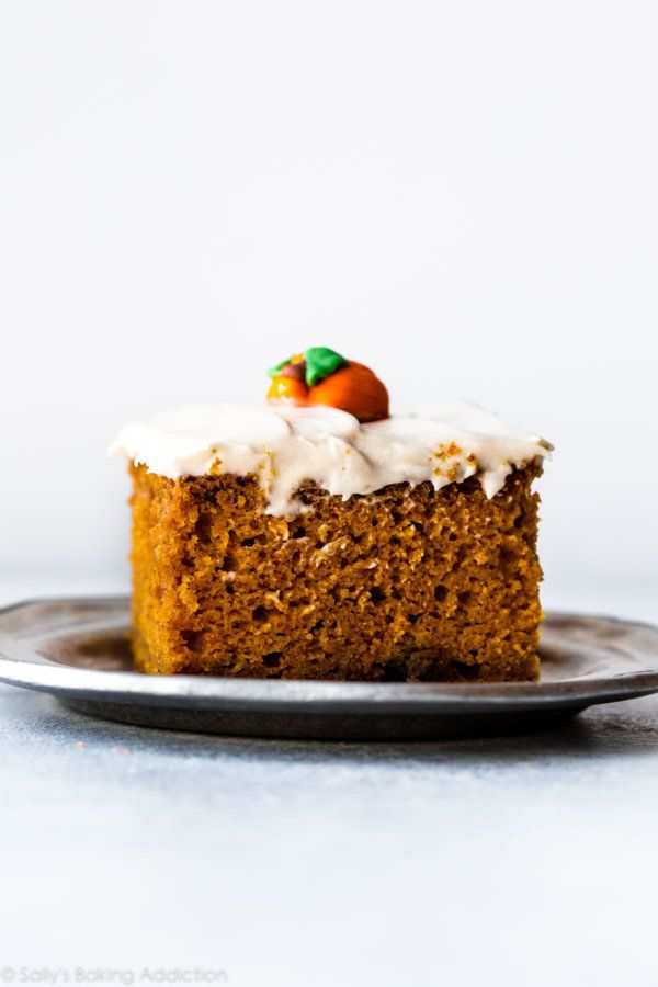 "<strong>Get the <a href=""https://sallysbakingaddiction.com/2017/10/11/best-pumpkin-cake/"" target=""_blank"">Best Pumpkin Cake</"