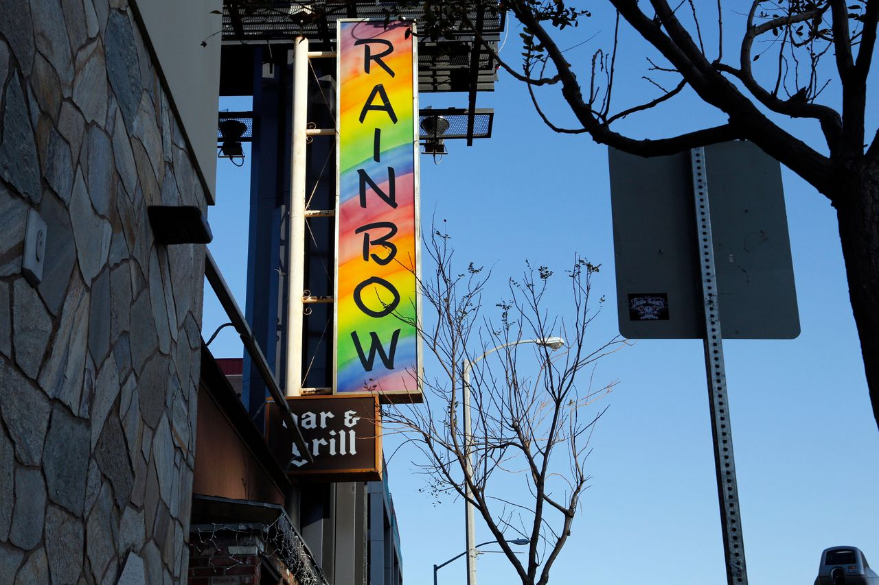 Hamilton and Rabuse met at the Rainbow on the Sunset Strip in LA, an iconic rock 'n' roll bar and restaurant.