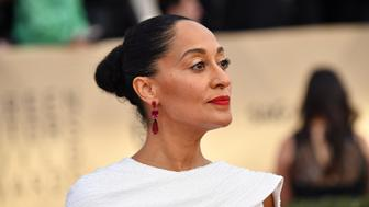 LOS ANGELES, CA - JANUARY 21:  Actor Tracee Ellis Ross attends the 24th Annual Screen Actors Guild Awards at The Shrine Auditorium on January 21, 2018 in Los Angeles, California.  (Photo by Jeff Kravitz/FilmMagic)