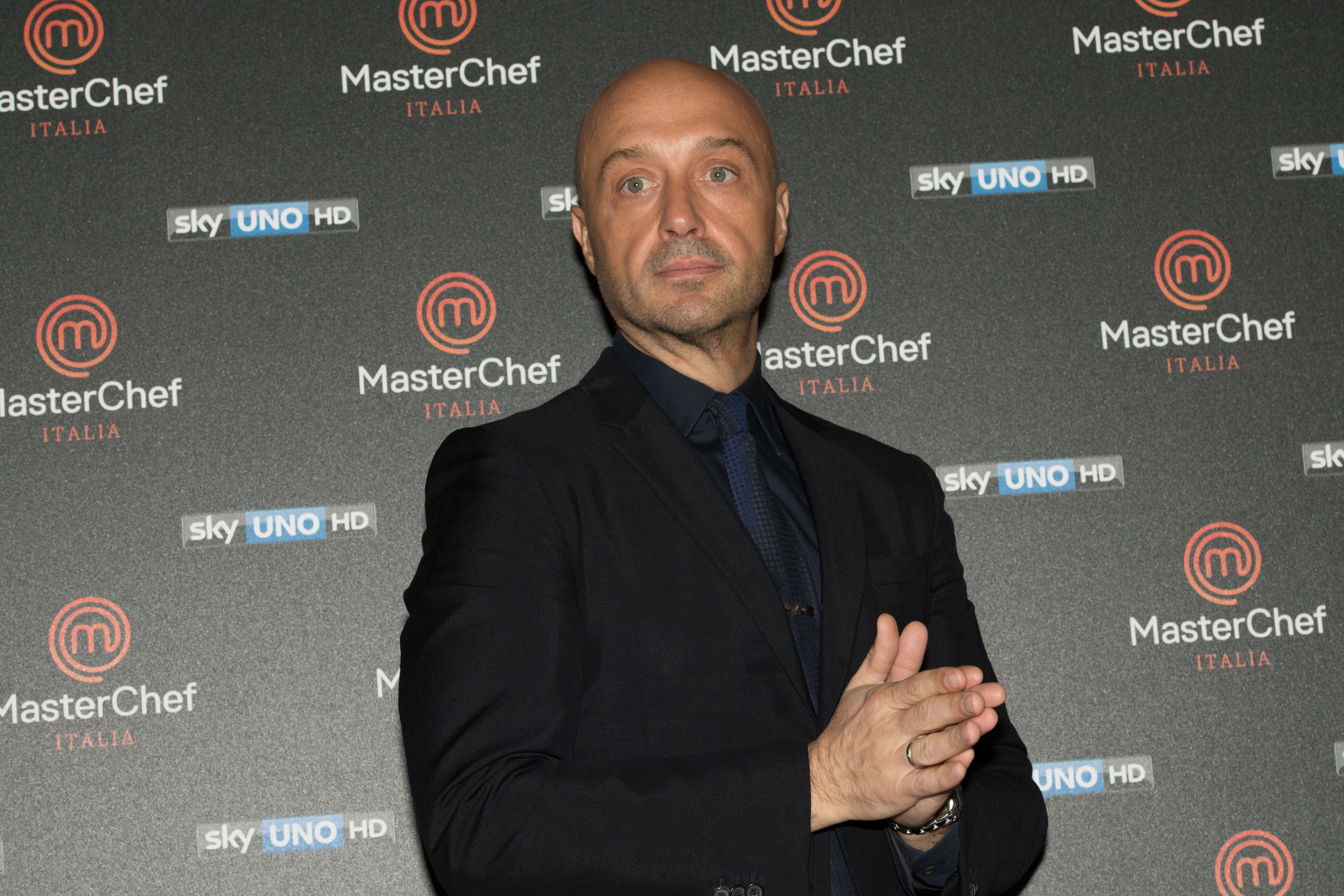 MILAN, ITALY - DECEMBER 19: (EDITORS NOTE: black and white version is available.)Joe Bastianich attends a photocall for Masterchef 6 press conference on December 19, 2016 in Milan, Italy.  (Photo by Francesco Prandoni/Getty Images)