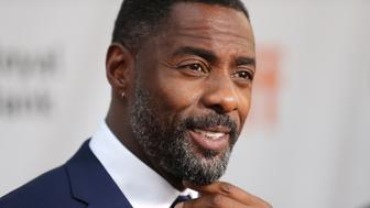 TORONTO, ON - SEPTEMBER 10:  Actor Idris Elba speaks to the media at the premiere of 'The Mountain Between Us' during the 2017 Toronto International Film Festival at Roy Thomson Hall on September 10, 2017 in Toronto, Canada.  (Photo by J. Countess/WireImage)