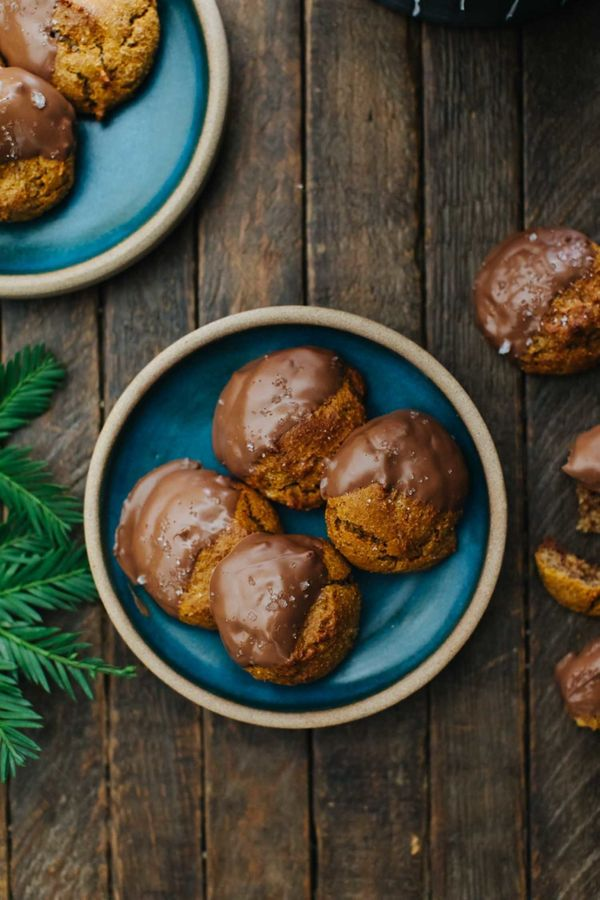 """<strong>Get the <a href=""""https://naturallyella.com/chocolate-almond-drop-cookies/"""" target=""""_blank"""">Chocolate Almond Drop Cook"""