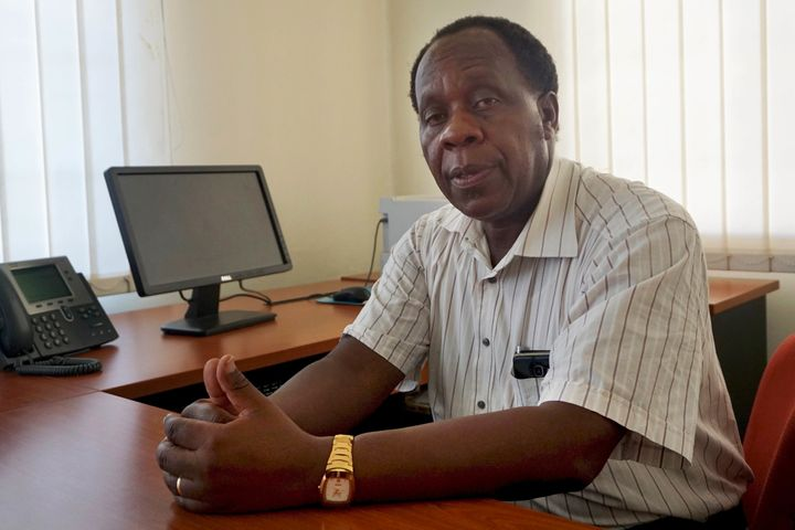 Ugandan virologist Dr. Julius Lutwama is an expert in arbovirology, the study of insect-borne viruses.