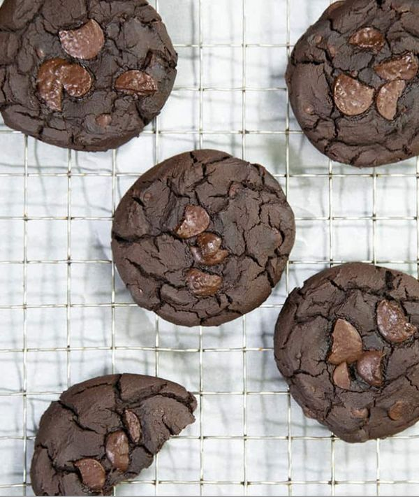 """<strong>Get the <a href=""""https://glutenfreeonashoestring.com/black-bean-cookies/"""" target=""""_blank"""">Fudgy Flourless Black Bean"""