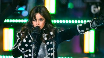 NEW YORK, NY - DECEMBER 31:  Camila Cabello performs during Dick Clark's New Year's Rockin' Eve 2018 at Times Square on December 31, 2017 in New York City.  (Photo by Michael Stewart/WireImage)