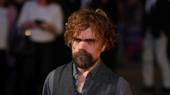 Actor Peter Dinklage arrives for the UK premiere screening of 'Three Billboards Outside Ebbing, Missouri', on the closing night of the British Film Institute (BFI) London Film Festival at the Odeon, Leicester Square in central London, Britain October 15, 2107. REUTERS/Luke MacGregor