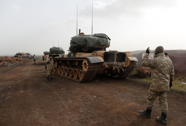 Ένας Τούρκος στρατιώτης νεκρός στην τουρκική επιχείρηση στο Αφρίν της