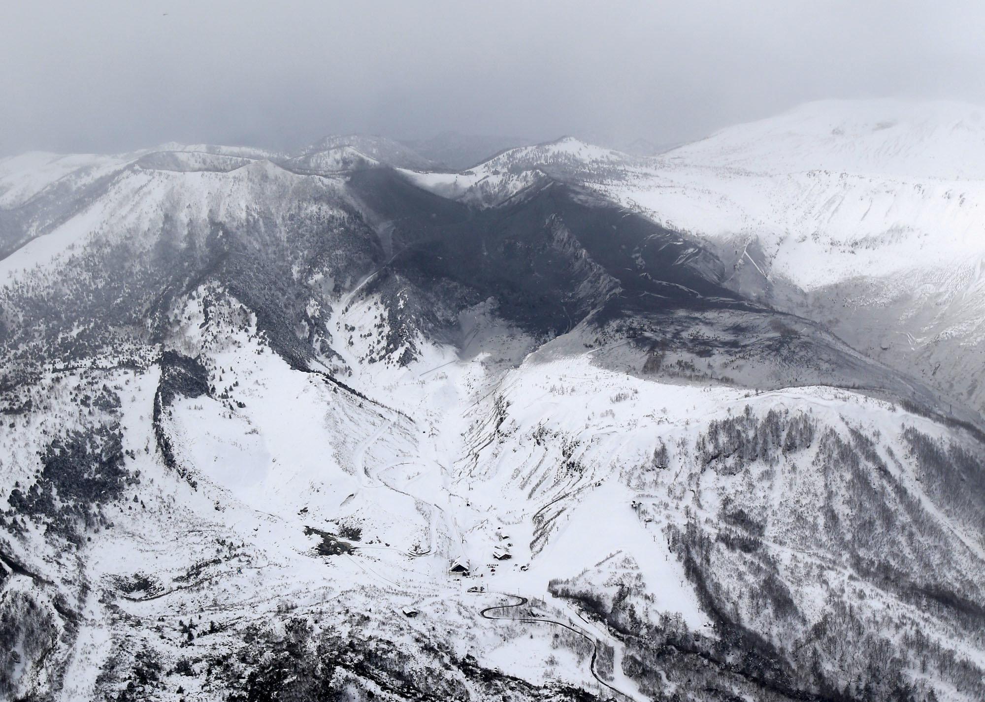 Ιαπωνία: Έκρηξη ηφαιστείου προκάλεσε χιονοστιβάδα. Ένας νεκρός και