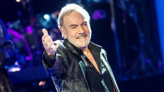 GLASGOW, SCOTLAND - JULY 07:  Neil Diamond performs at The SSE Hydro on July 7, 2015 in Glasgow, United Kingdom.  (Photo by Ross Gilmore/Redferns via Getty Images)