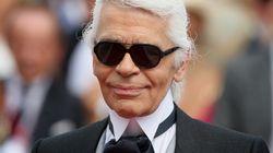 Nicht mehr nur Sonnenbrille und weißer Zopf: Karl Lagerfeld hat ein neues Markenzeichen
