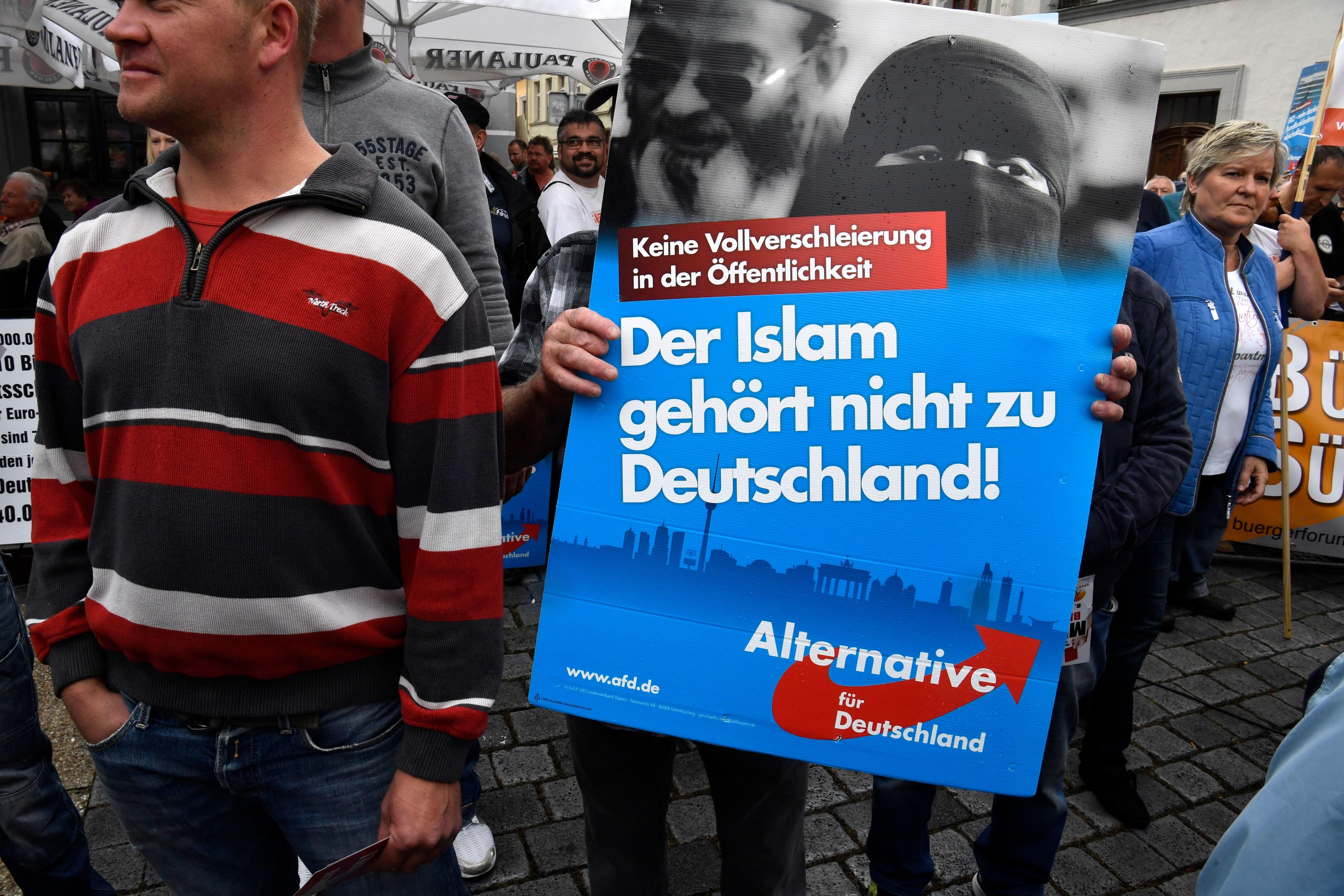 Ex-AfD-Vorstandsmitglied aus Brandenburg ist zum Islam