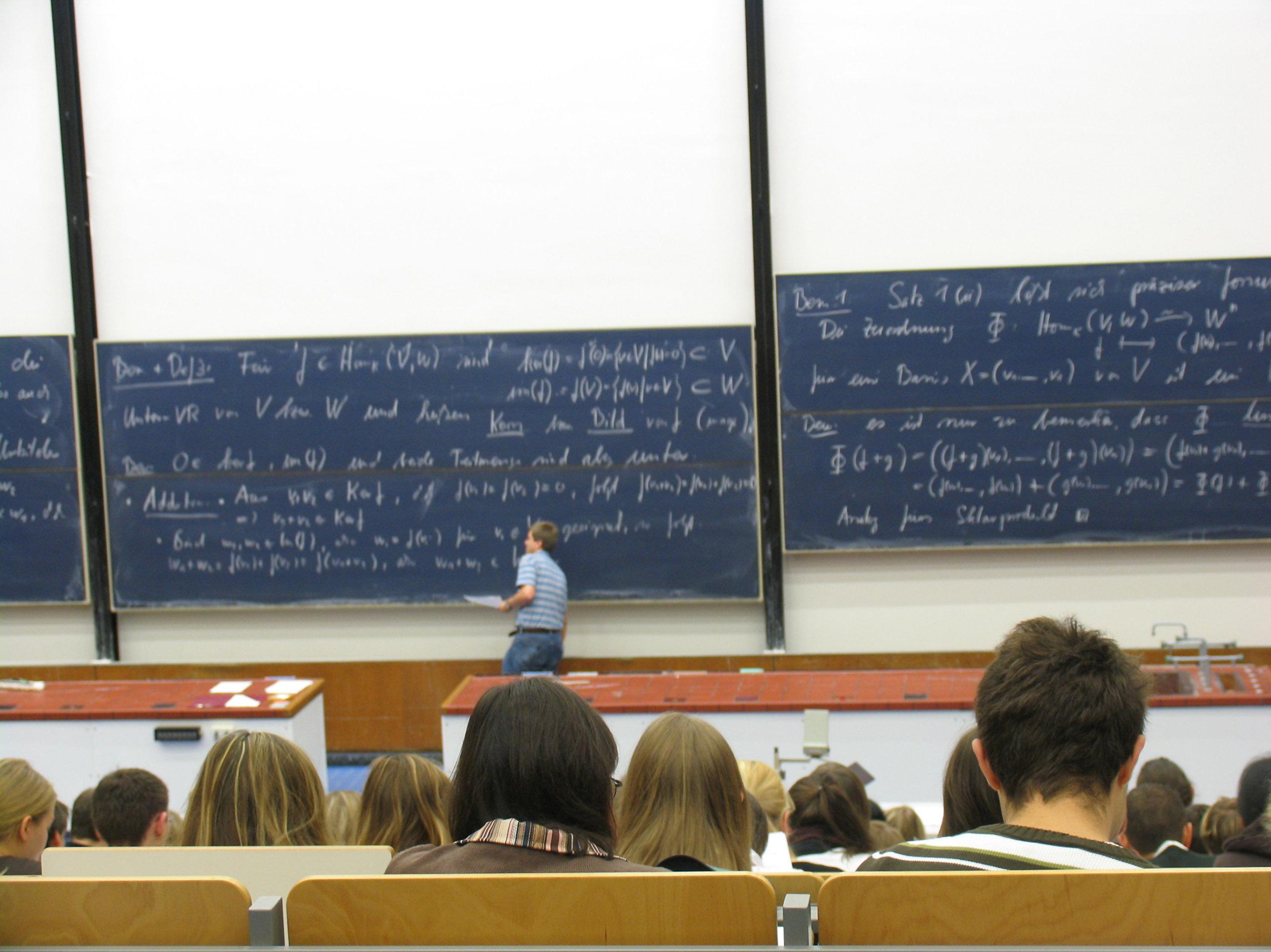 Um Mathe-Studentinnen anzulocken, geht die Oxford University einen extremen