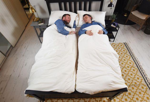 Ikea Duvet For Couples Aims To Banish Midnight