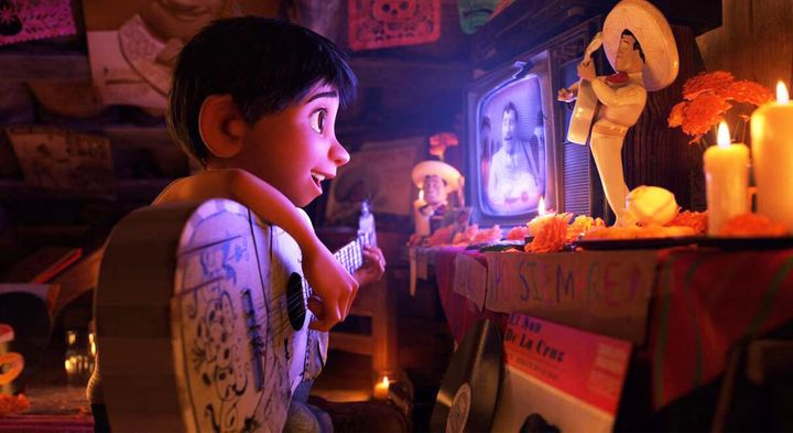 "A scene from the movie ""Coco."""