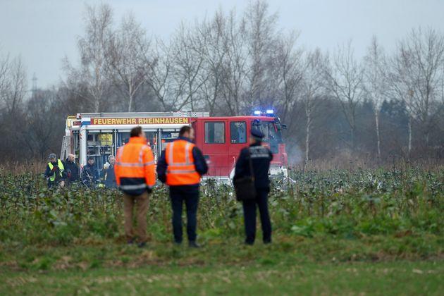 Tέσσερις νεκροί από σύγκρουση ελικοπτέρου με αεροσκάφος στη