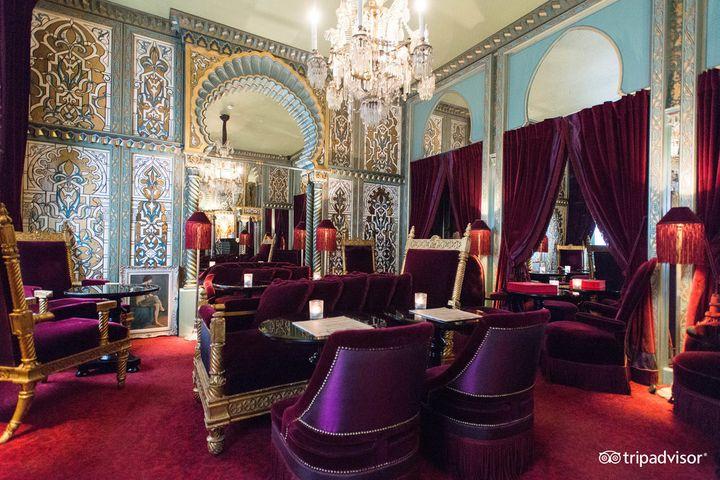 """The lobby of the <a href=""""https://www.tripadvisor.com/Hotel_Review-g187147-d7182695-Reviews-Maison_Souquet-Paris_Ile_de_France.html"""" target=""""_blank"""">Maison Souquet in Paris</a>, which snagged the top spot&nbsp;for&nbsp;TripAdvisor's best hotel in the world for romance.&nbsp;A night at Maison Souquet averages about&nbsp;<a href=""""https://www.tripadvisor.com/Hotel_Review-g187147-d7182695-Reviews-Maison_Souquet-Paris_Ile_de_France.html"""" target=""""_blank"""">$471 a night</a>.&nbsp;"""