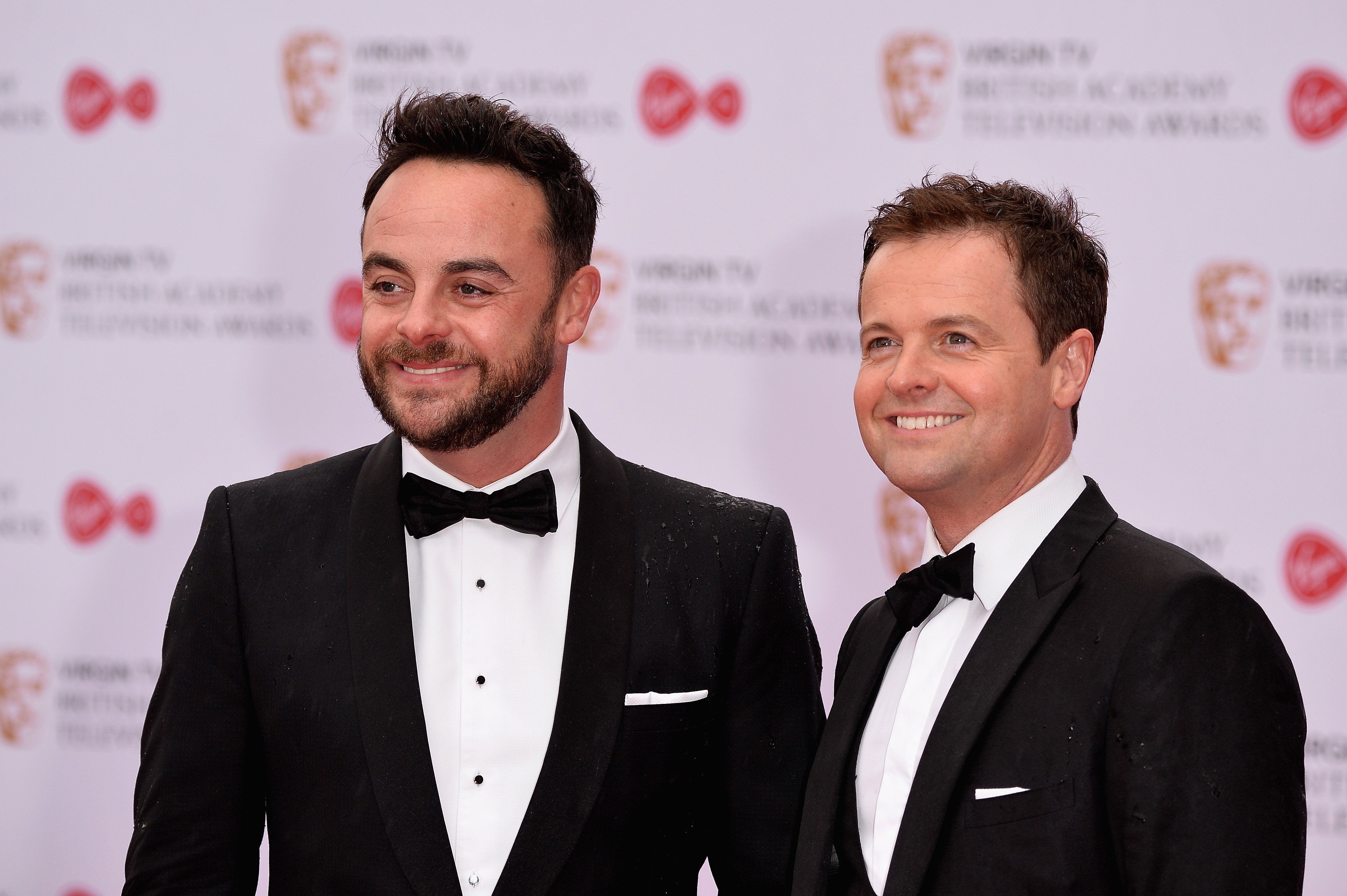 Ant and Dec at last year's TV