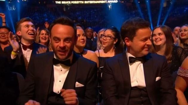 Ant and Dec also won two other