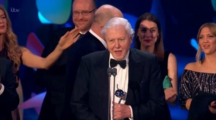 Sir David Attenborough as 'Blue Planet' picks up the Impact