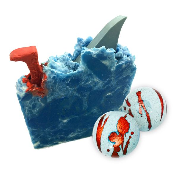 "No, Shark Week isn't until later this year, but you can use these <a href=""https://antoinettesbathhouse.com/collections/bundl"