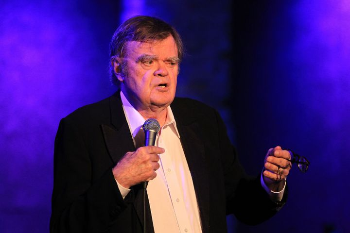 Humorist and longtime radio personality Garrison Keillor performs at City Winery in New York City on Oct. 4, 2017.