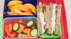 O que os nutricionistas dão a seus filhos como lanche para levar à