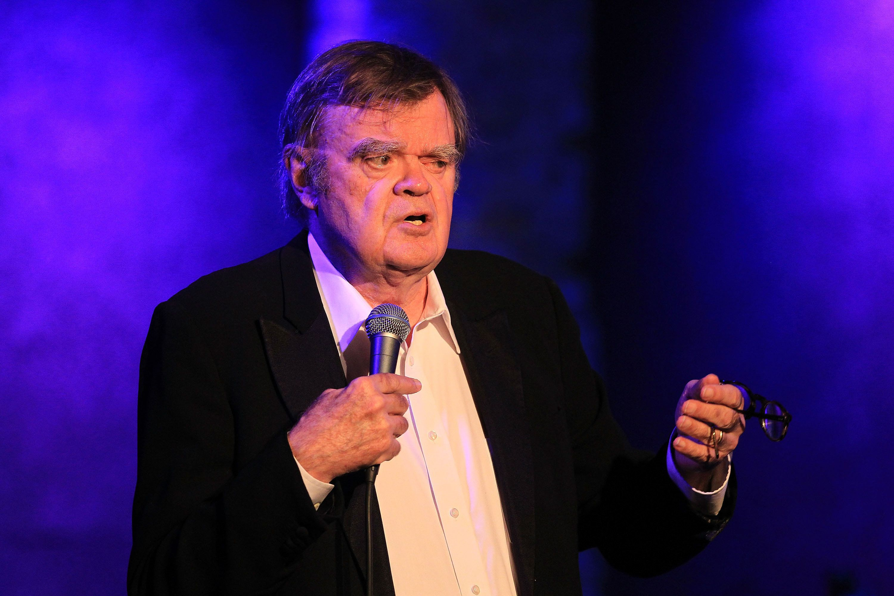 NEW YORK, NY - OCTOBER 04:  Garrison Keillor performs at City Winery on October 4, 2017 in New York City.  (Photo by Al Pereira/WireImage)