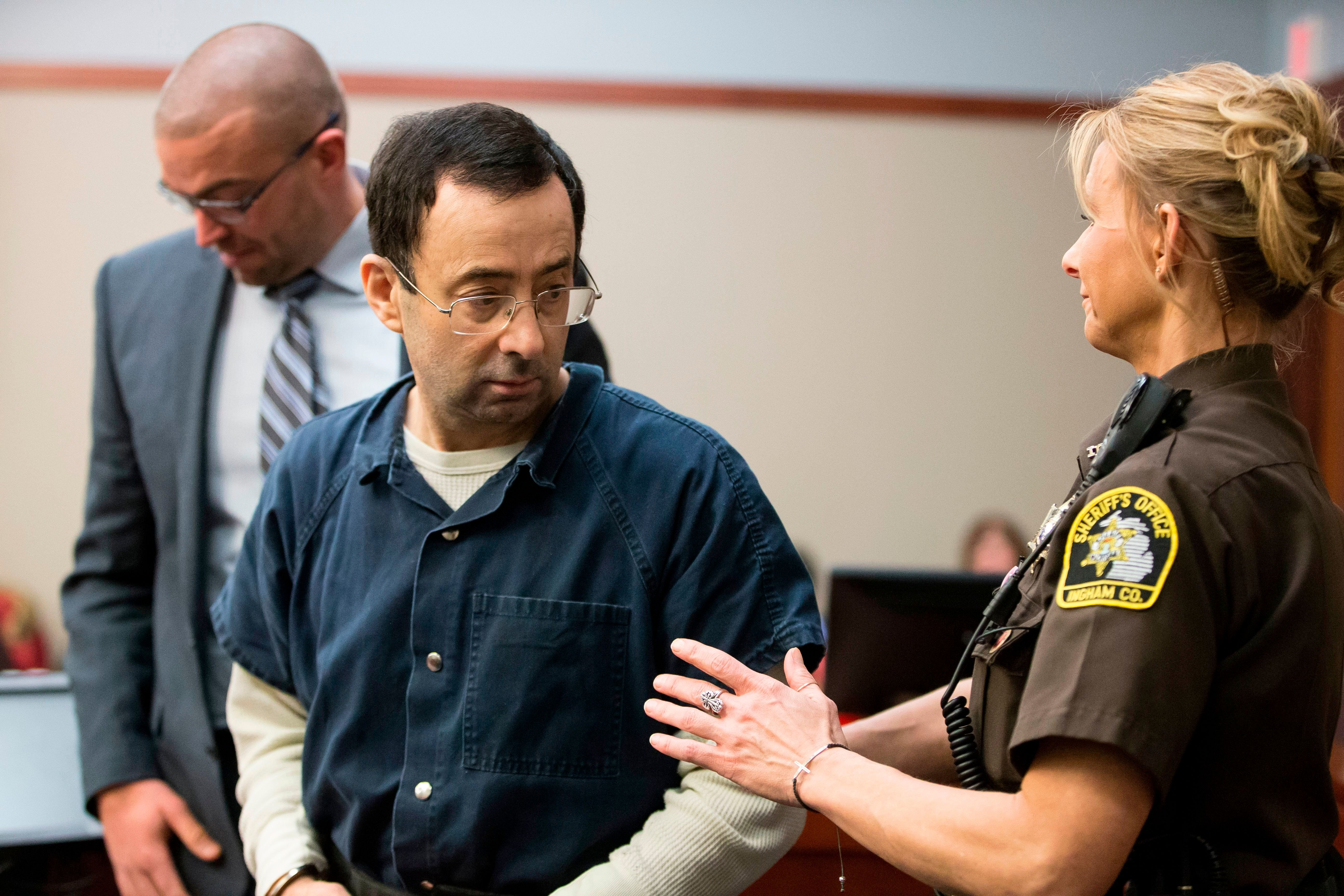 """More than a hundredwomenhave read victim impact statements during physician Larry Nassar's<a href=""""https://"""
