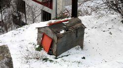 Χιόνια στο Πήλιο- κλειστά τα σχολεία στα
