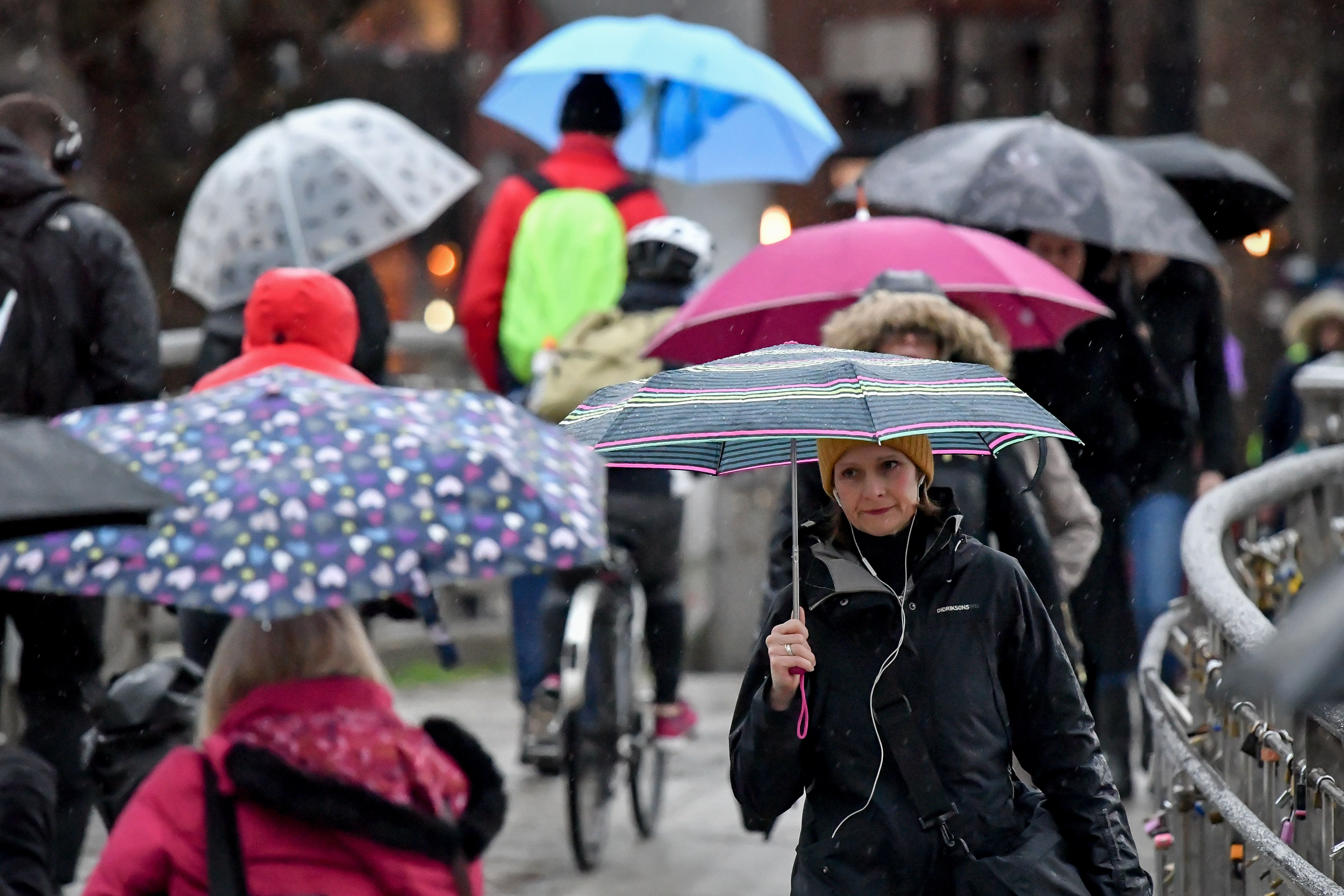 Storm Georgina Batters The UK With Heavy Rain And Winds Of Up To