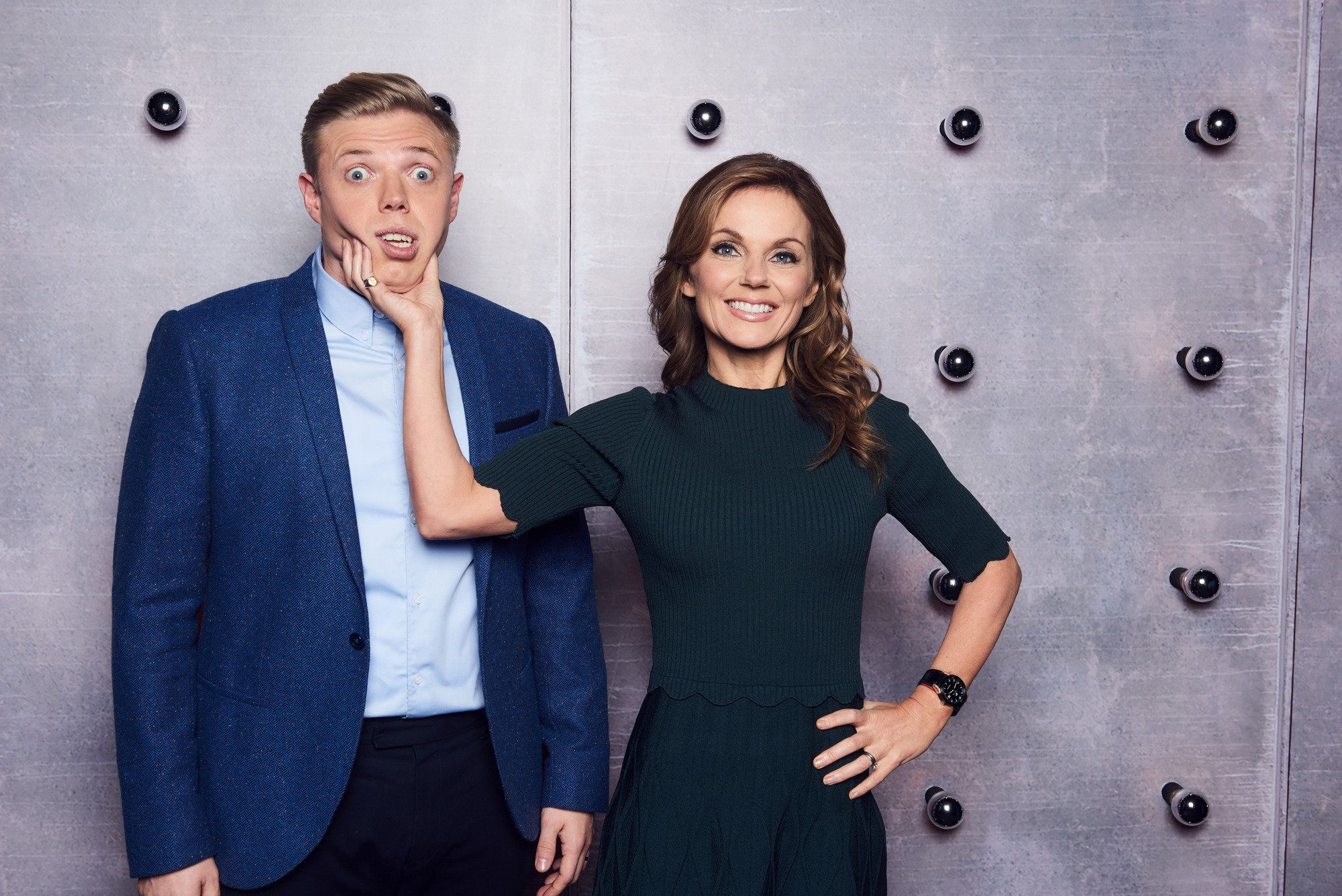 'All Together Now' Stars Geri Horner And Rob Beckett Tell Us Why We Should Watch The BBC's Latest Talent