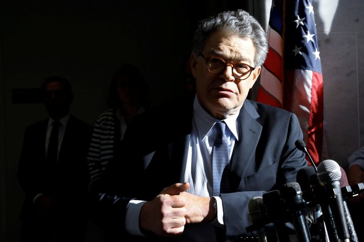 Former Senator Al Franken, a vocal supporter of women's rights, is also accused of violating them.